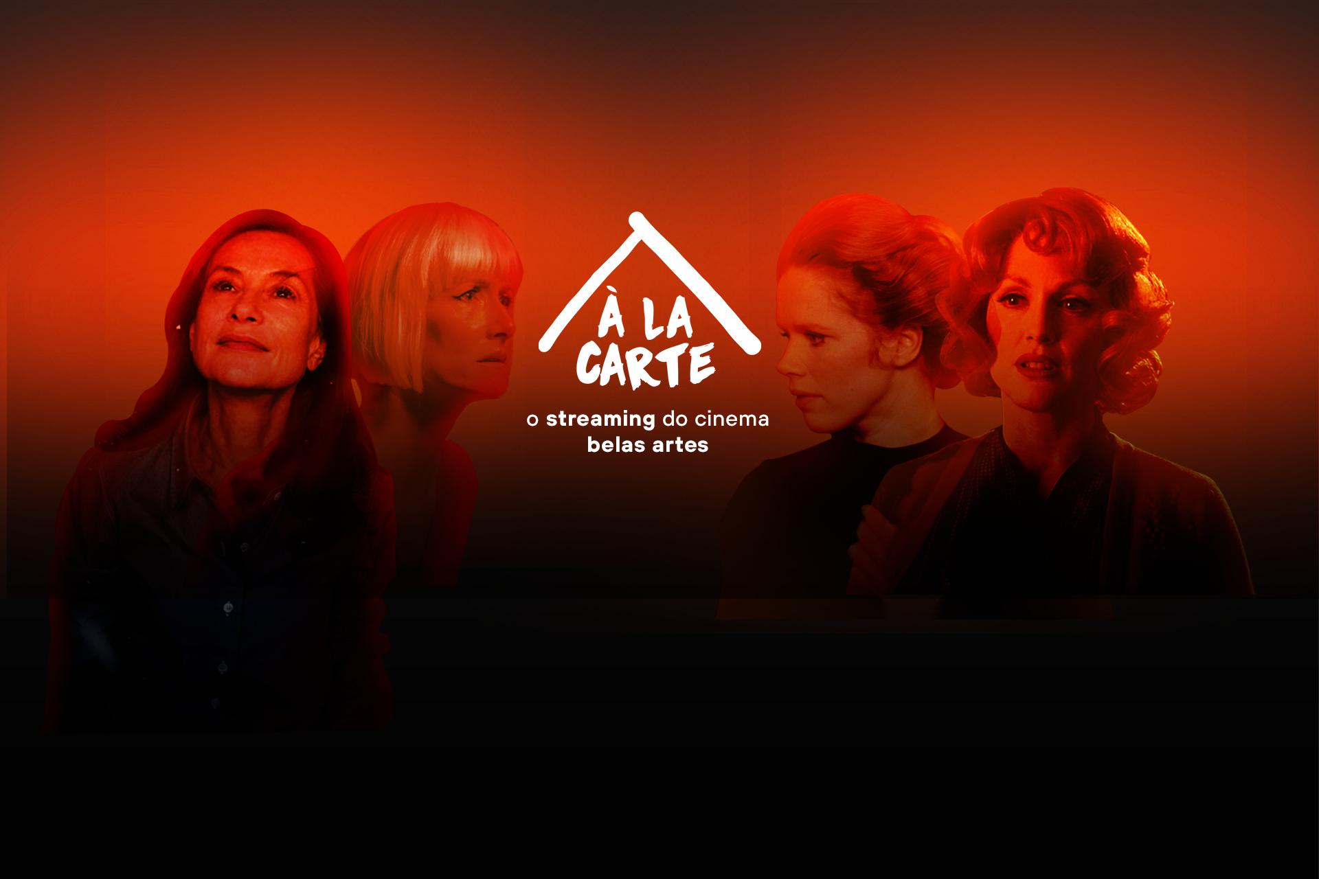Banner de divulgação do Cine Belas Artes À LA CARTE